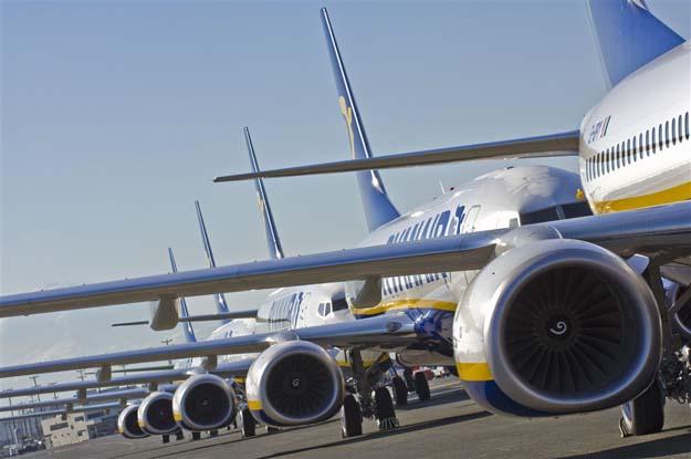 I 2017 vil Ryanair modtage 15 nye fly.