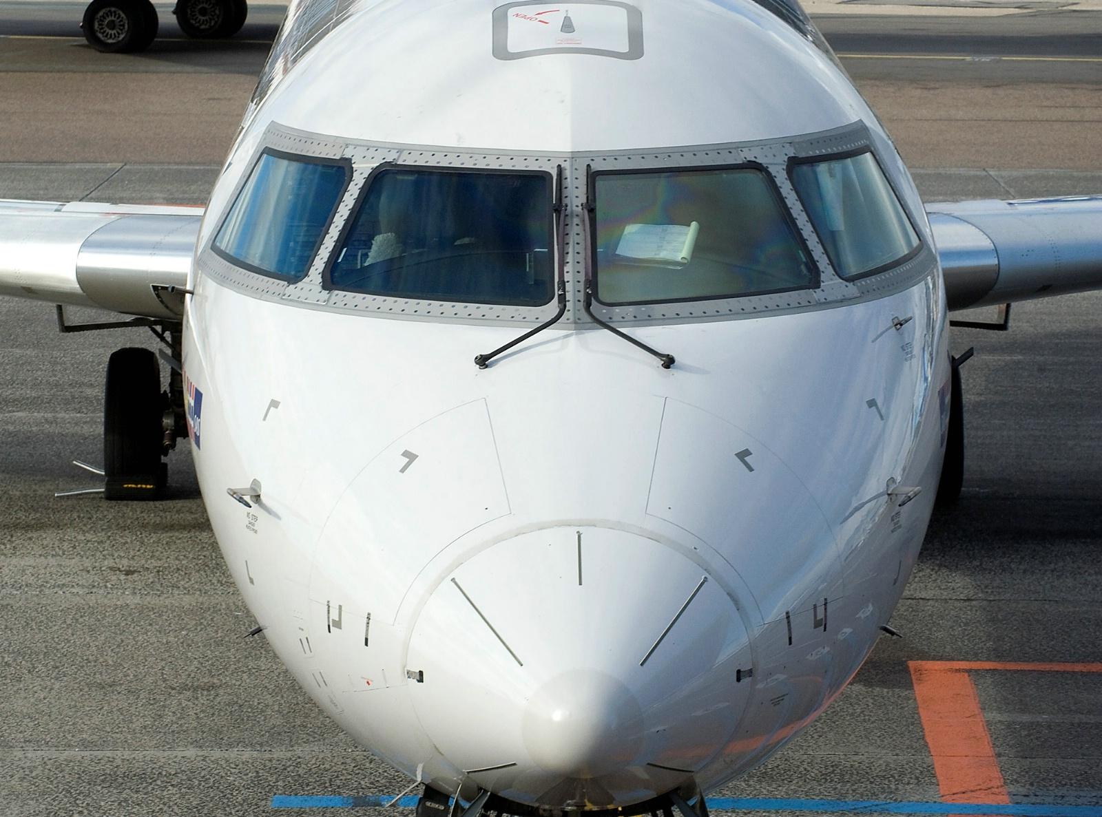 Bombardier CRJ900 opereret på vegne af SAS.
