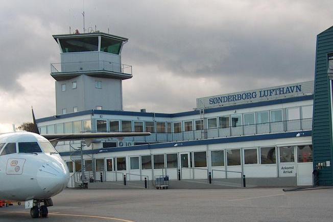 Sønderborg Lufthavn. (Arkivfoto)
