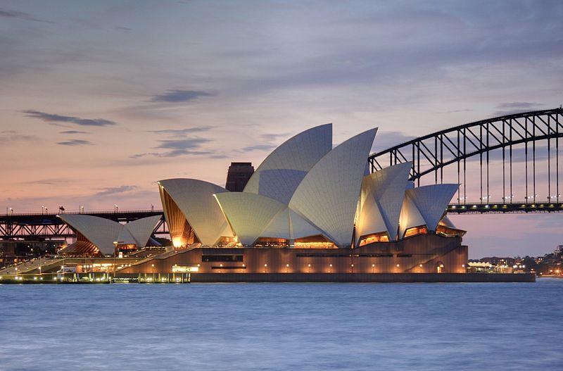 Nogle af verdens længste flyruter går til Sydney i Australien.