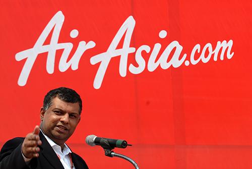Tony Fernandes, koncernchef i AirAsia.