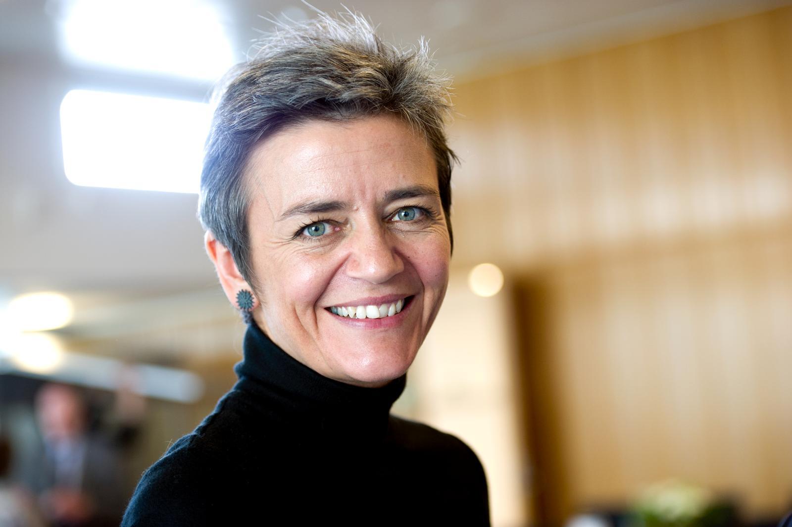 EU-konkurrencekommissær Margrethe Vestager (Foto: Johannes Jansson | CC 2.5)