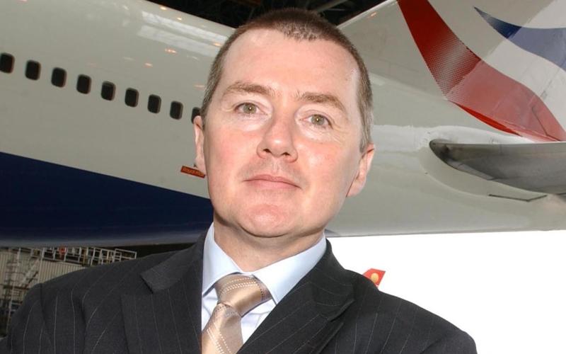 Willie Walsh, koncernchef i IAG, har valgt at gå på pension.  Arkivfoto.