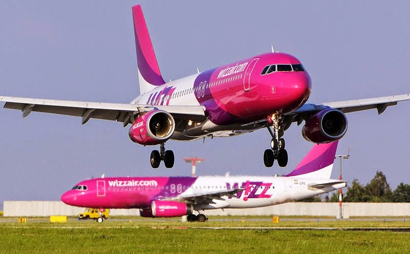 Wizz Air A320-fly.