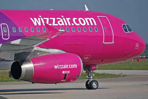 Airbus A320-200 fra Wizz Air.