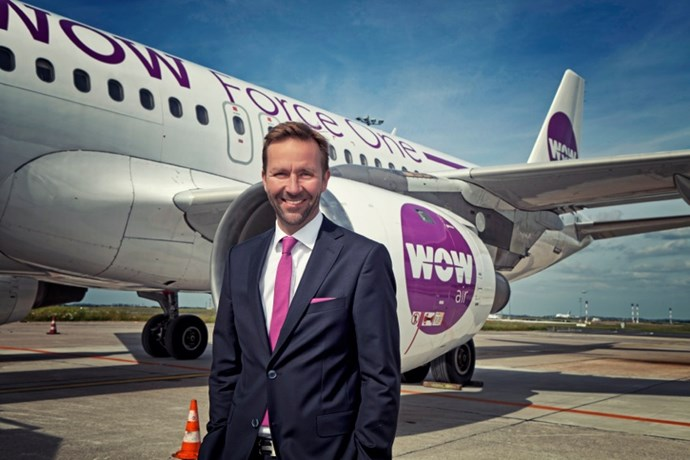Skuli Mogensen, grundlægger og tidligere koncernchef i WOW air.