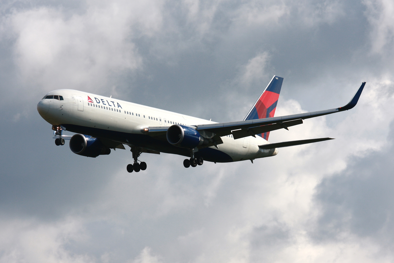 Delta Air Lines Boeing 767-300.