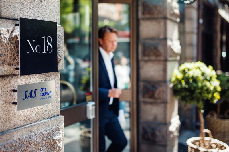 SAS City Lounge Stockholm