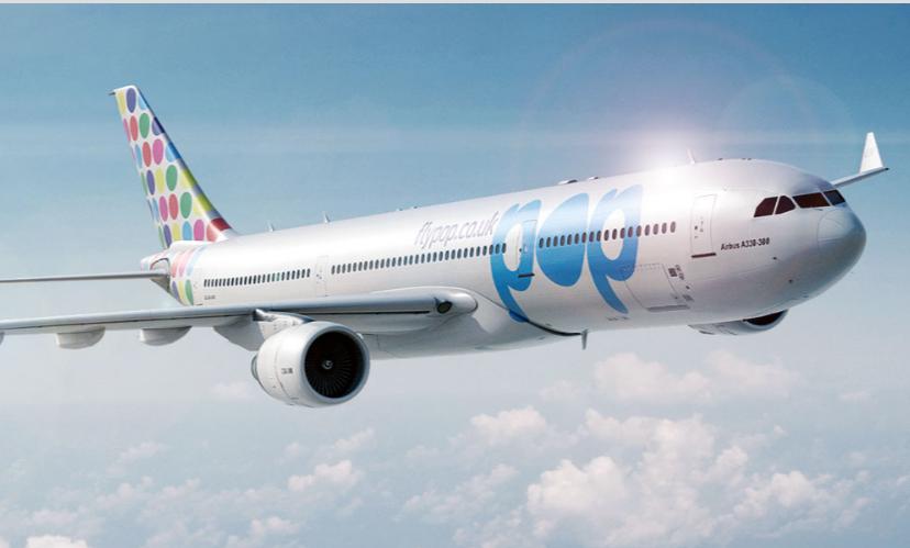 FlyPOP vil i luften med et A330.fly inden årets udgang.