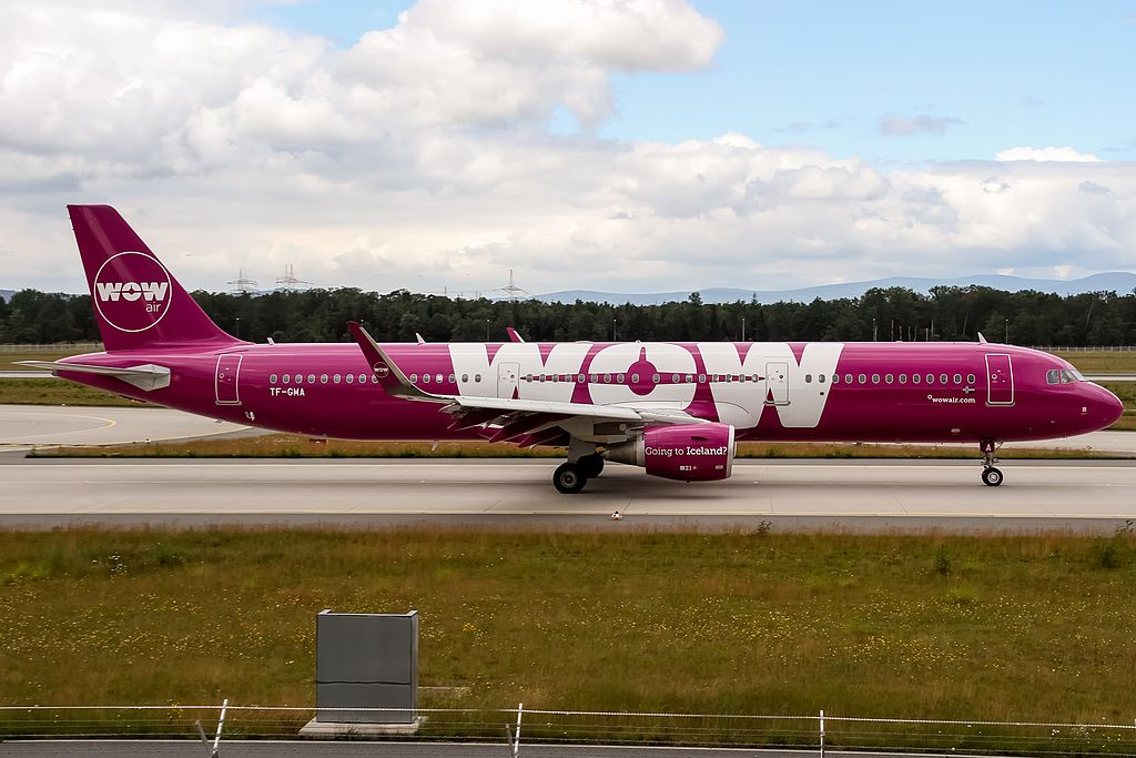 WOW air A320-200. (Foto: Oliver Holzbauer)