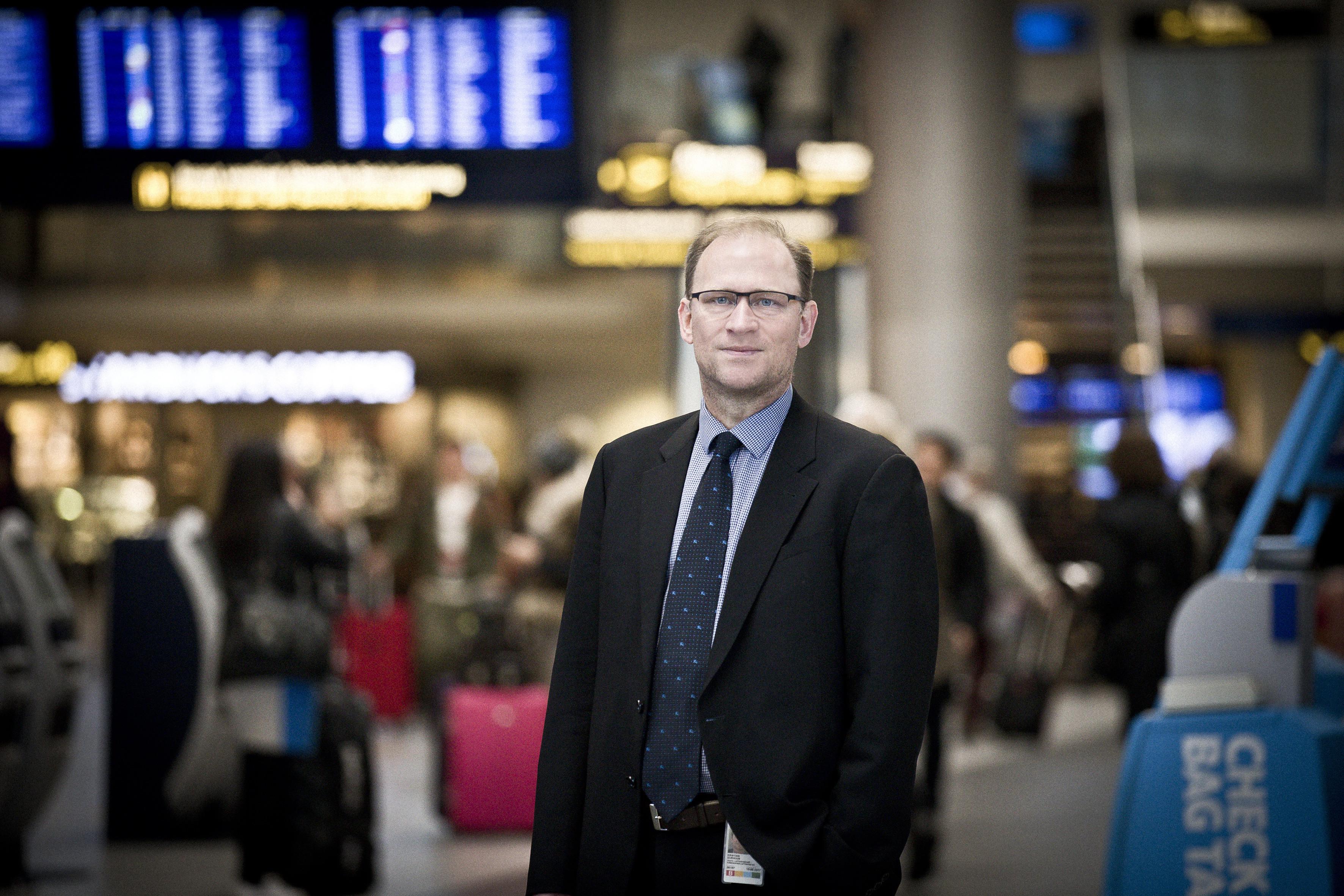 Kristian Durhuus, driftsdirektør i Københavns Lufthavne A/S.