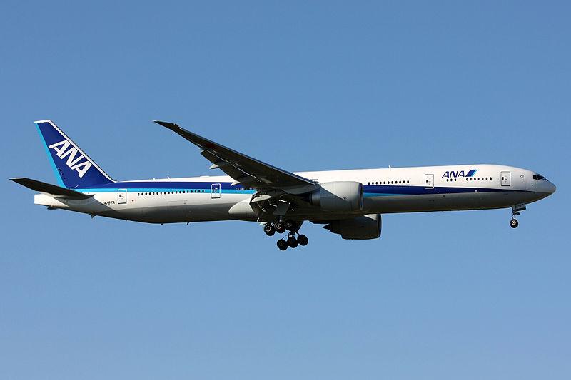 ANA All Nippon Airways Boeing 777-300ER.