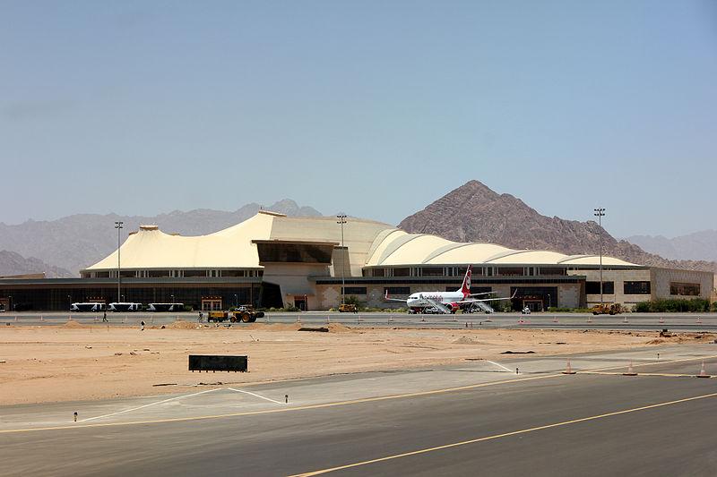 Sharm el-Sheikh International Airport i Egypten er en af de lufthavne, hvor der tidligere har været stillet spørgsmålstegn ved sikkerheden omkring kontrol af passagerer. (Foto: JHenryW / Justus Weiss)