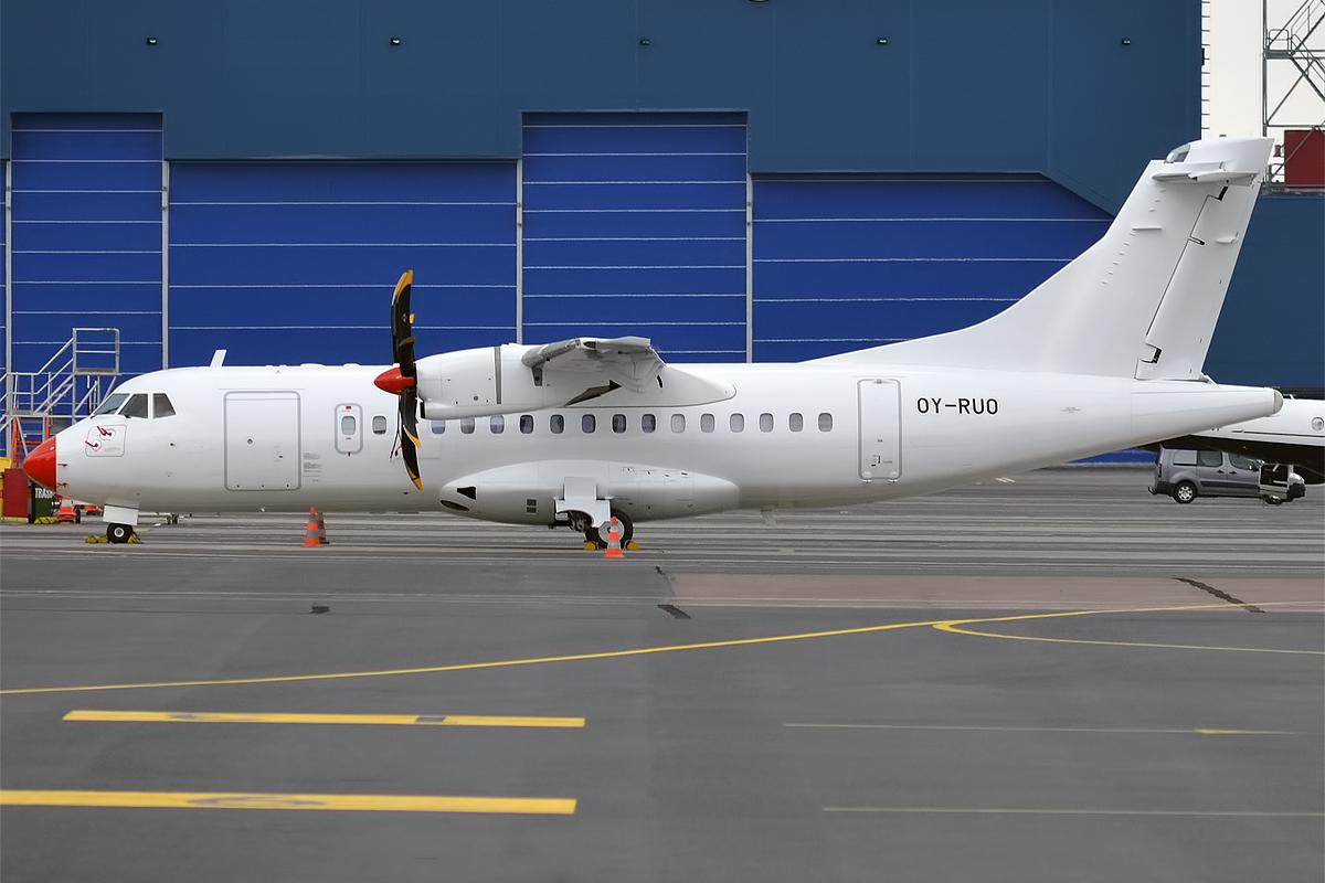 Danish Air Transport ATR42-500 – OY-RUO. (Foto: Anna Zvereva / Wikipedia)