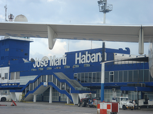 José Martí International Airport i Havana.