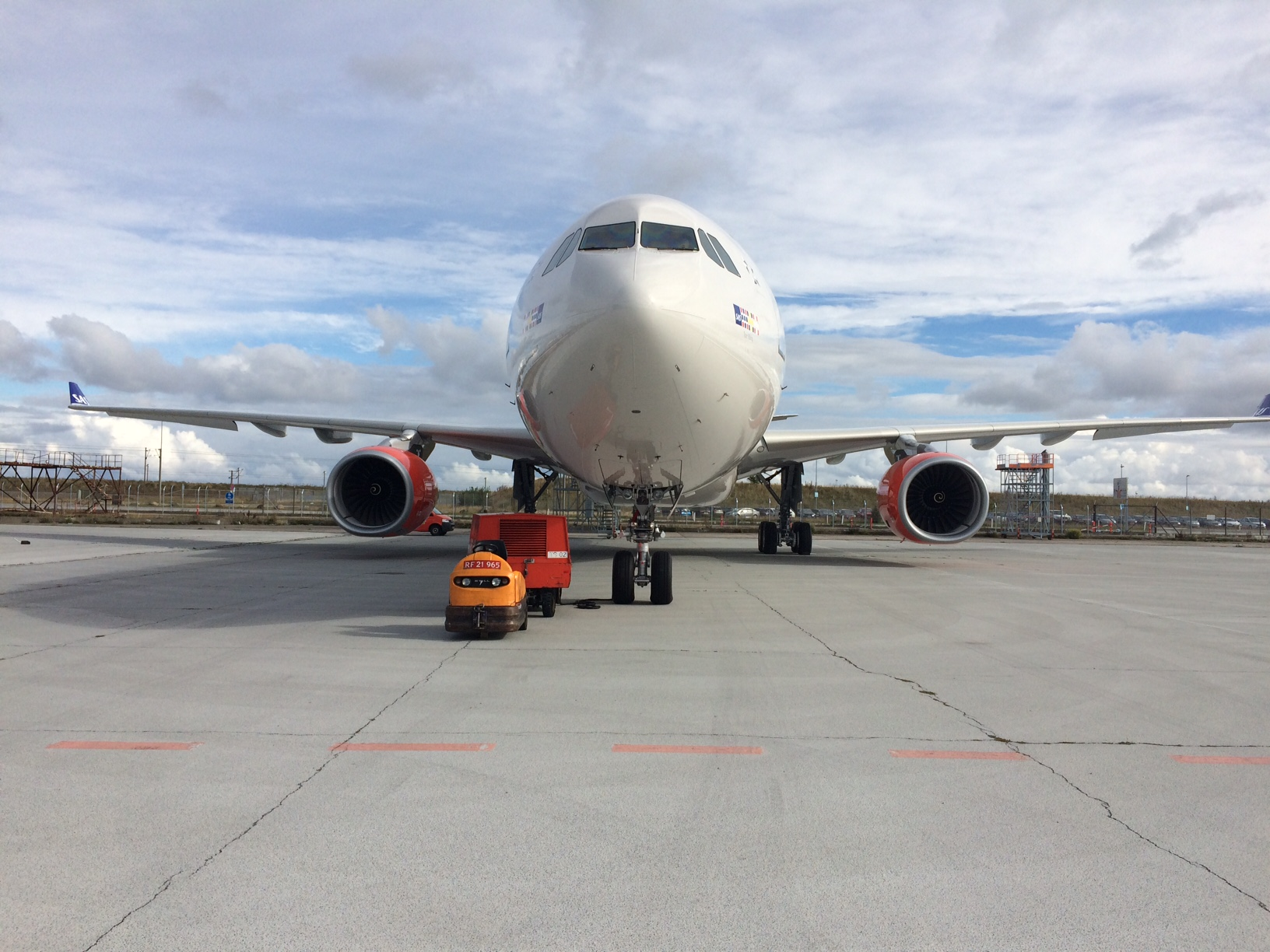 Arkivfoto – SAS A330-fly i Københavns Lufthavn. (Foto: Ole Kirchert Christensen)