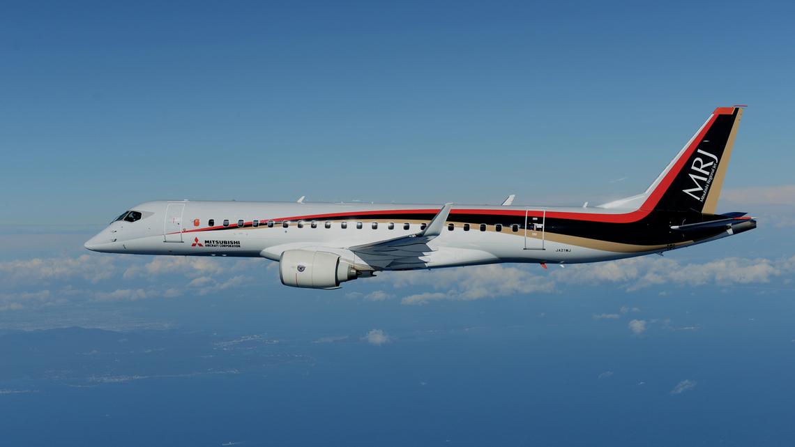 MRJ90 (Foto: Mitsubishi Aircraft Company)