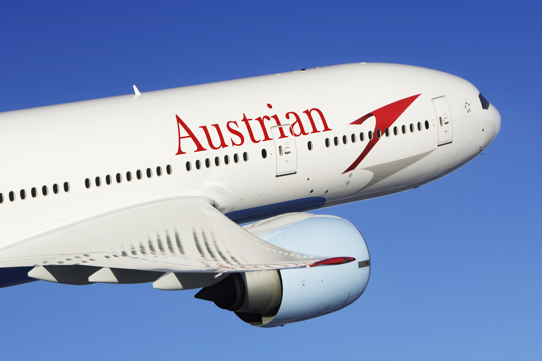 Austrian Airlines B777. (Foto: Austrian Airlines Grpup / John M. Dibbs).