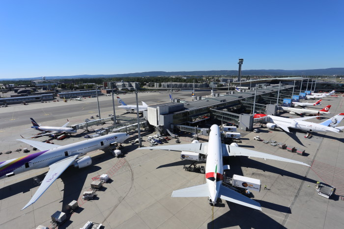 Oslo Lufthavn.