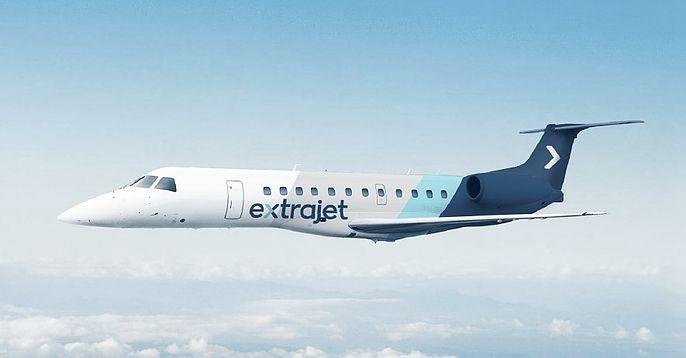 Embraer E135, som ExtraJet vil benytte på ruterne til og fra København.