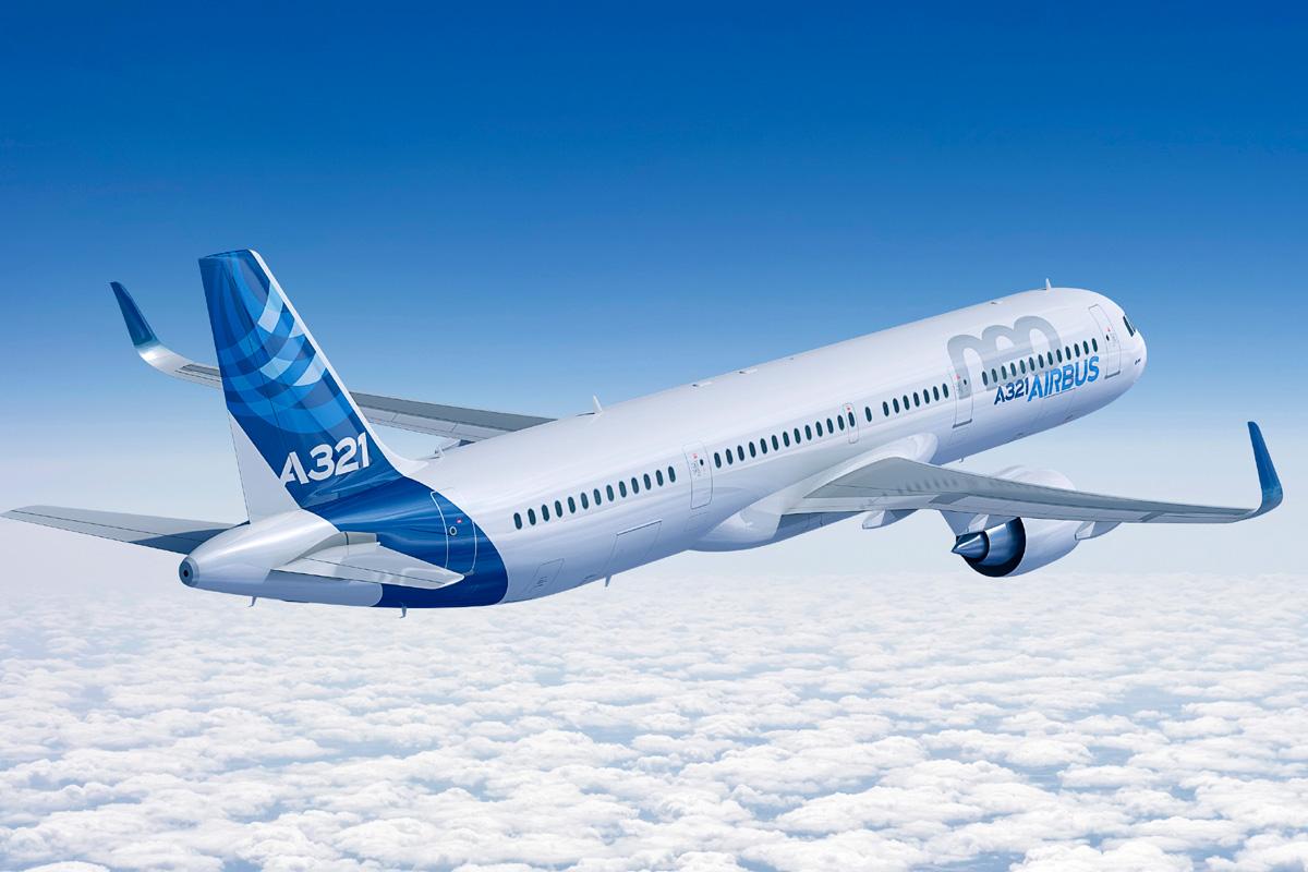 A321 i den særlige LR-version. (Foto: Airbus)