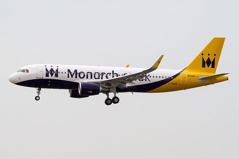 Monarch Airlines A320-200. (Foto: Fabrizio Berni / Wikipedia)