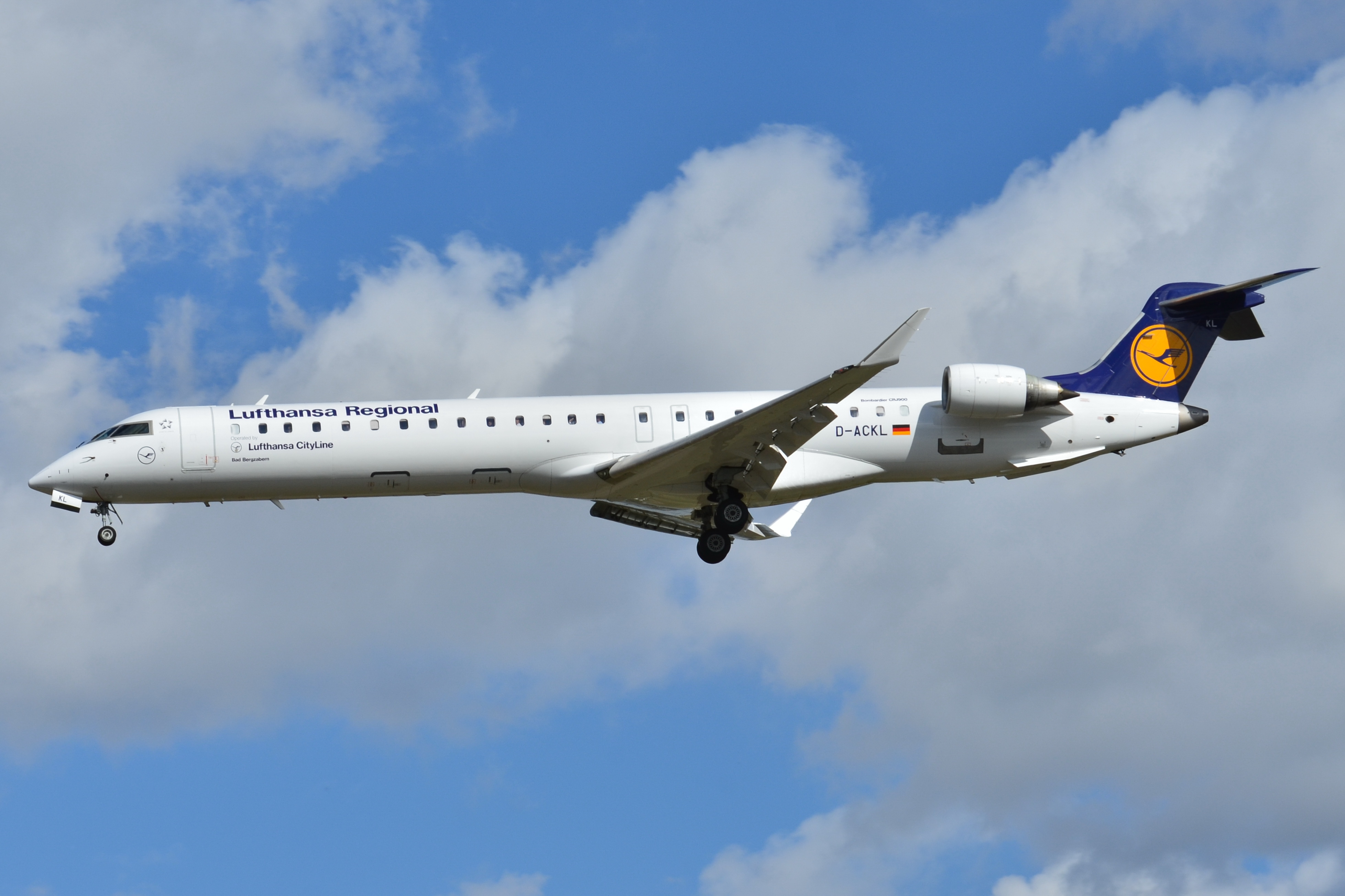 Lufthansa – Bombardier CRJ900 (Foto: Laurent ERRERA/wikipedia)