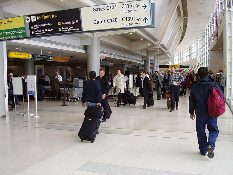 New Yorks Newark-lufthavn. Foto: Hecki / Wikimedia Commons.