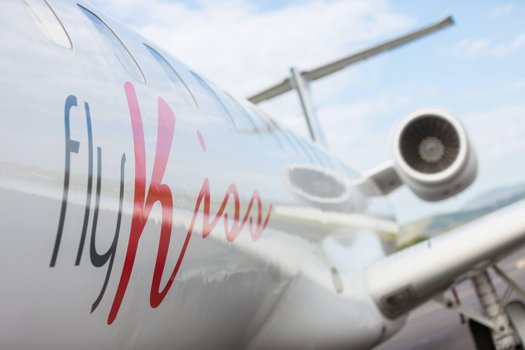Embrajer ERJ145 fra Fly Kiss. (Foto: Fly Kiss)