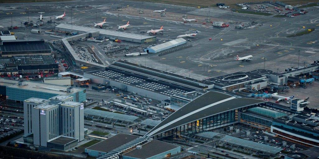 Luftfoto Københavns Lufthavn. (Foto: CPH)
