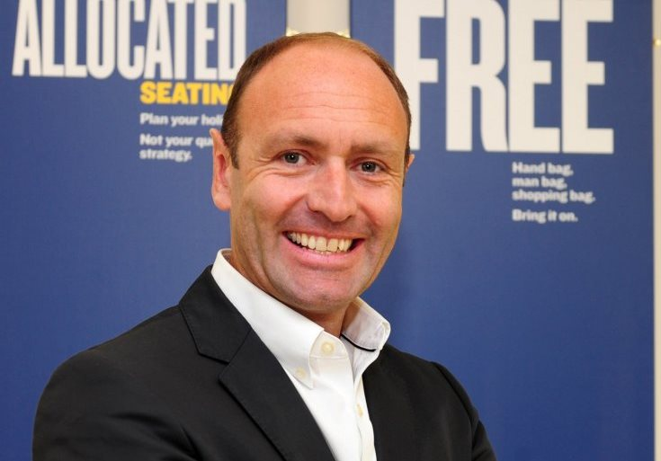 Kenny Jacobs, Chief Marketing Officer hos Ryanair. (Foto: Ryanair)