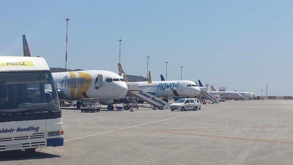 Chania Airport på Kreta. (Foto: Chania Airport)