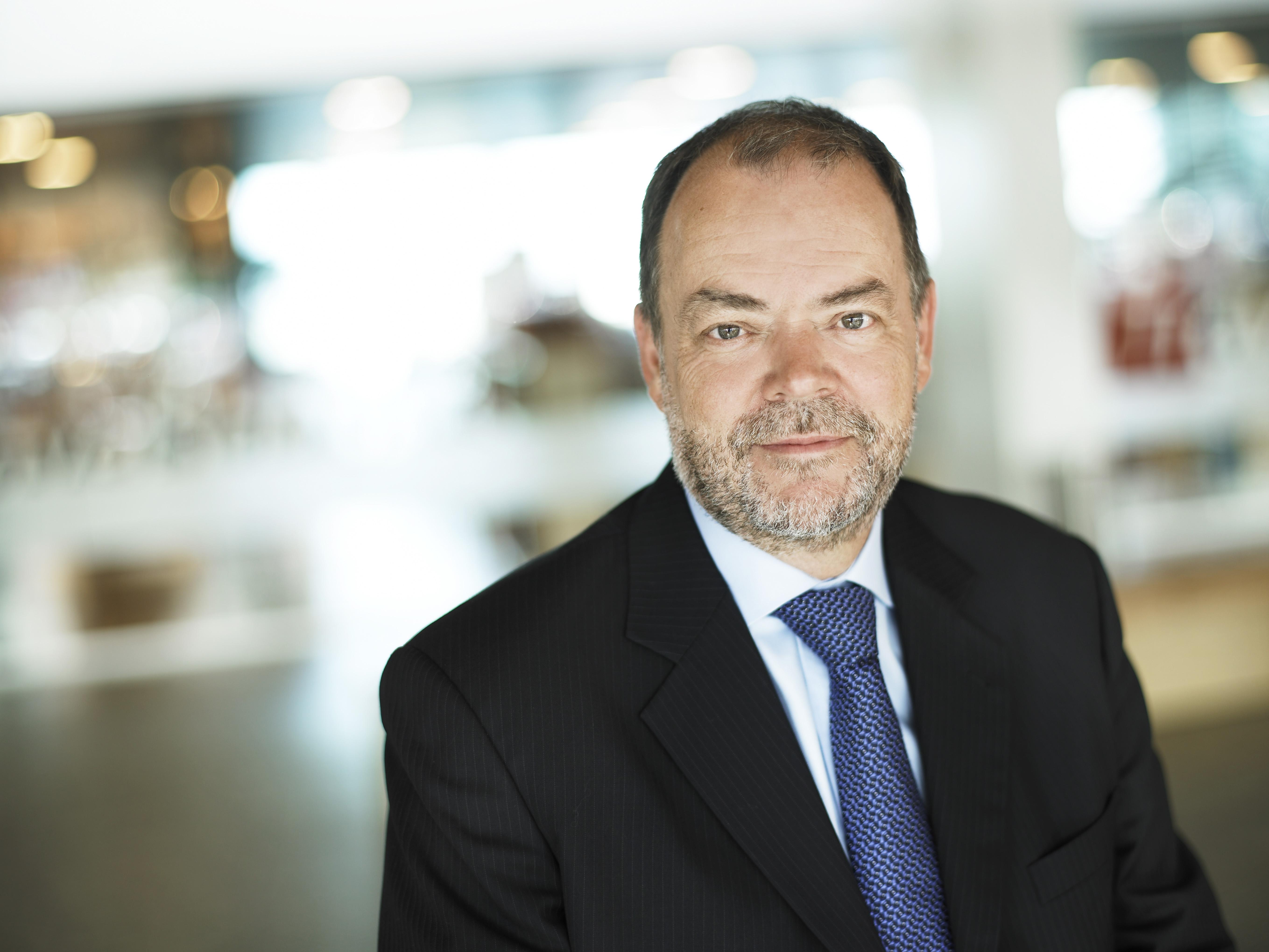 Søren Svendsen, administrerende direktør i Aalborg Lufthavn.