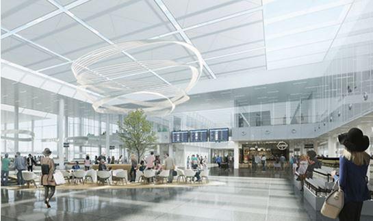 München Lufthavn vil bygge en ny 320 meter lang finger i tilslutning til Terminal 1.