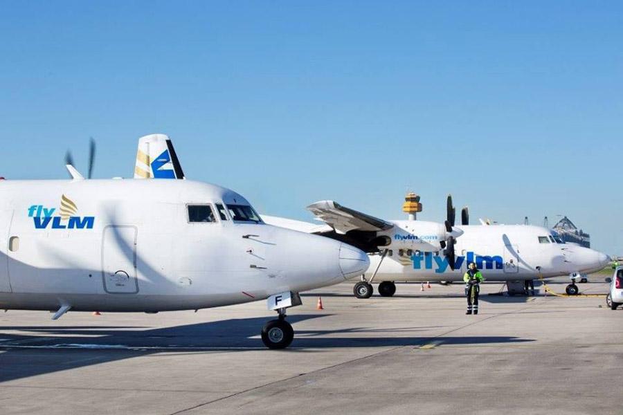 Fokker F50-fly fra VLM Airlines. (Arkivfoto)