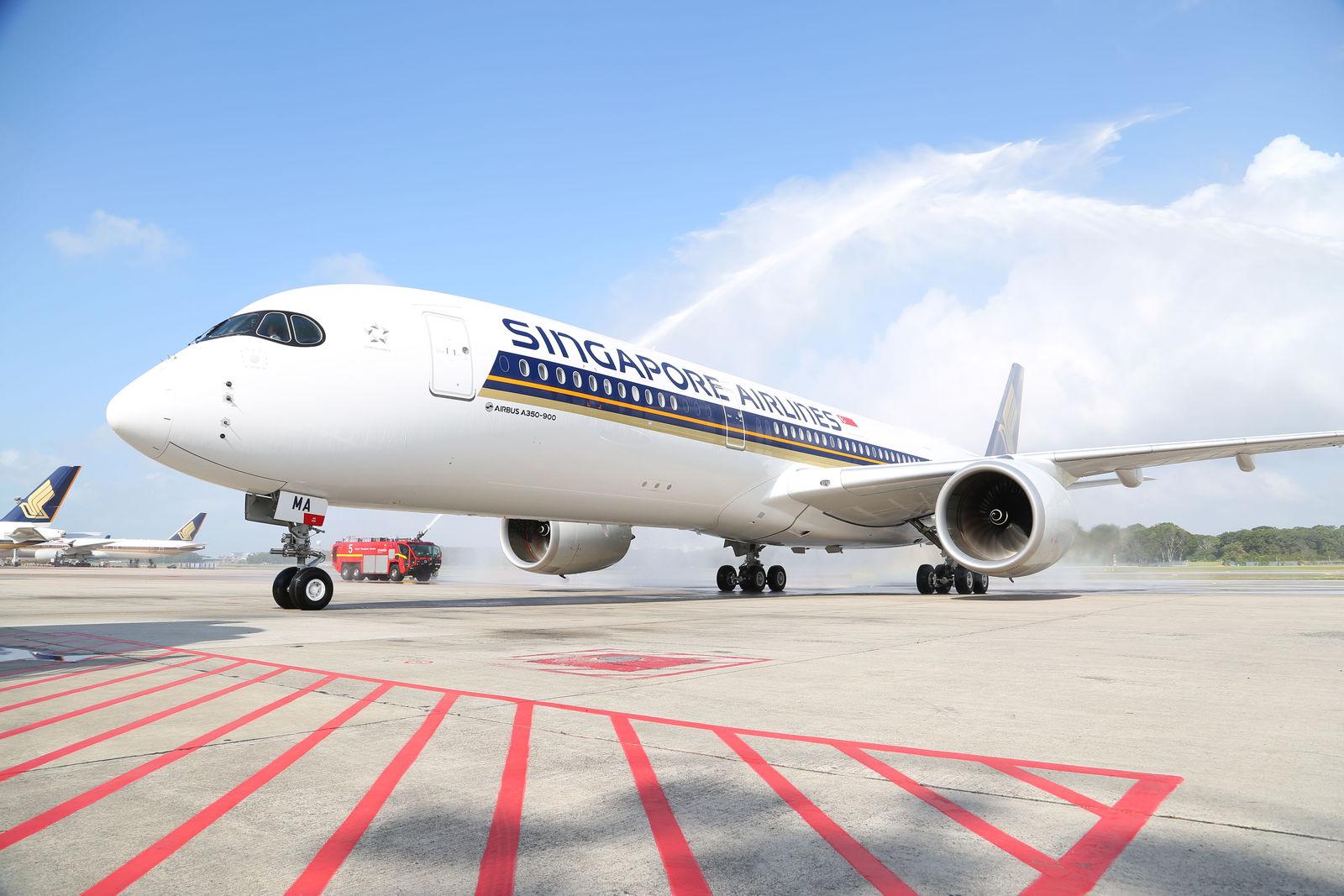 Singapore Airlines A350-900 XWB. (Foto: Airbus)