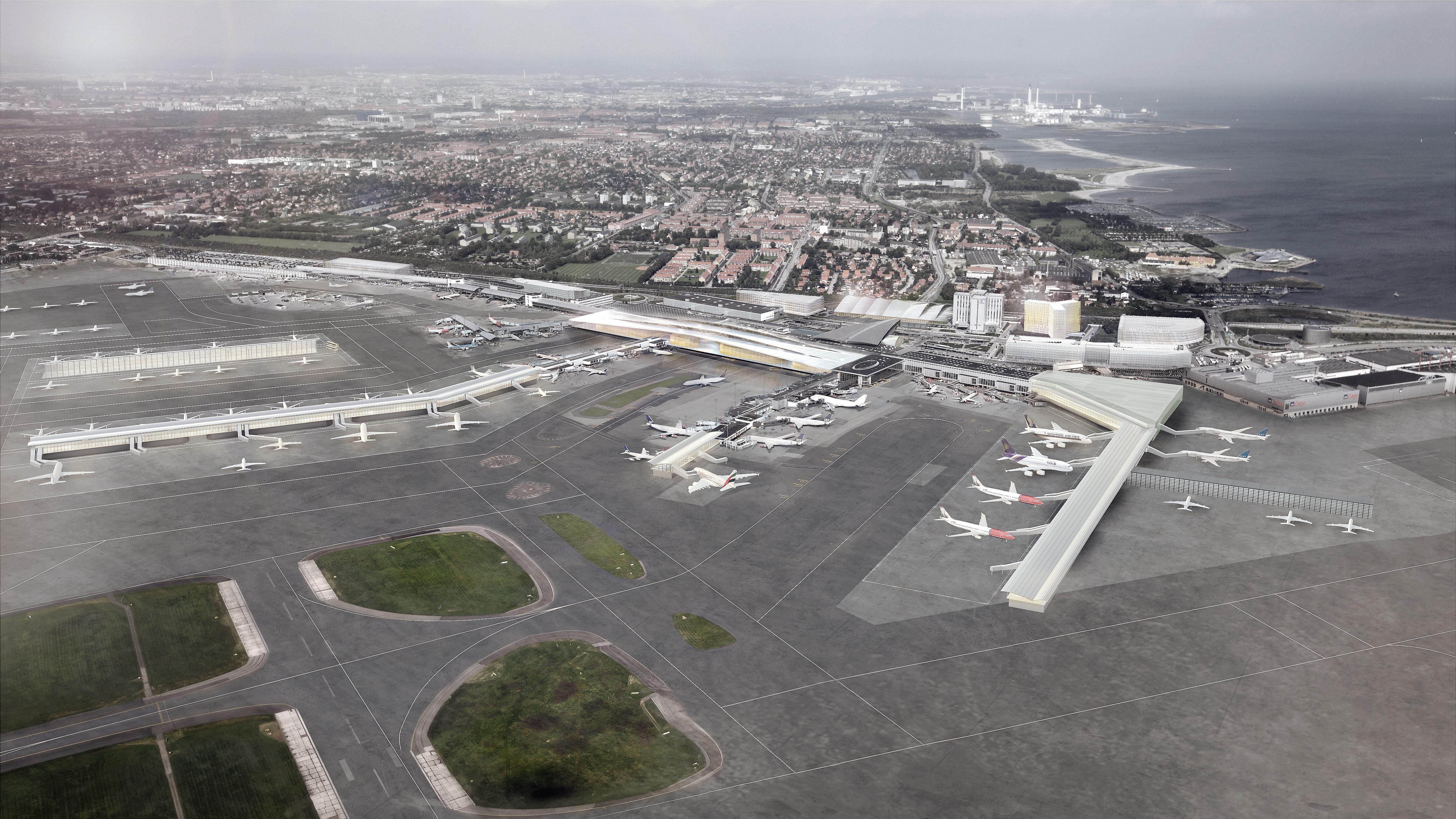Københavns Lufthavn Masterplan – oversigtsbillede. (Foto: Københavns Lufthavn)