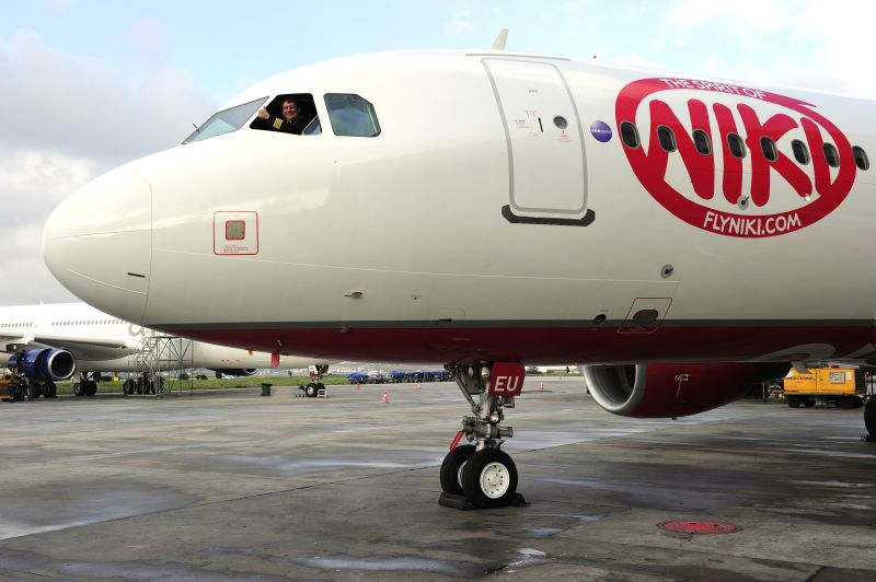 Airbus A320-200 fra Fly NIKI (Foto: airberlin group)