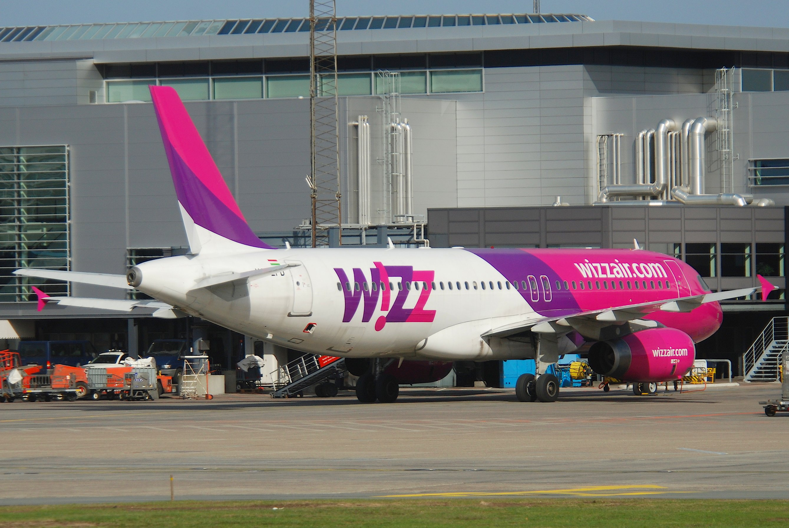 Wizz Air A320-200 i Københavns Lufthavn. (Foto: Aero Icarus / Creative Commons License, Wikimedia)