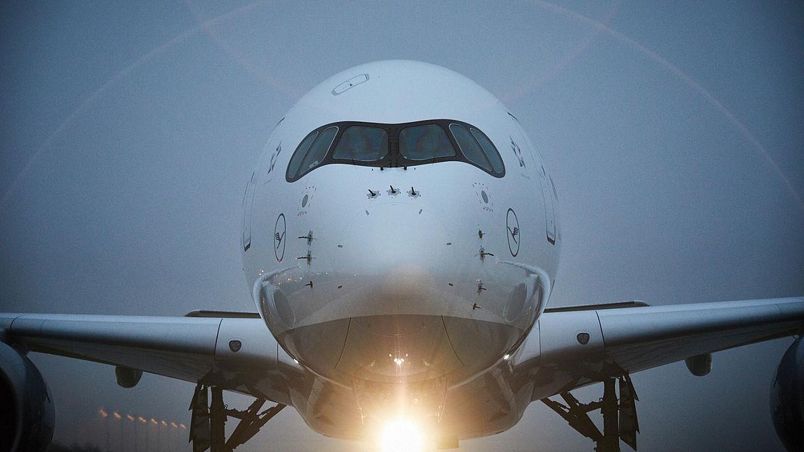 A350-900 i München (Foto: Lufthansa)