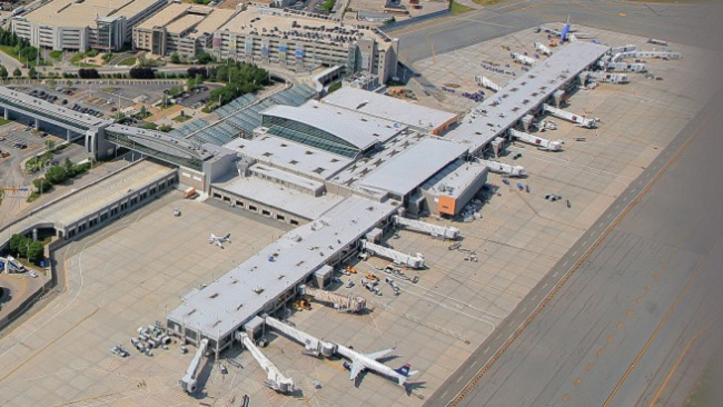 T. F. Green Airport havde 3,5 mio. passagerer i 2015. Foto: Rhode Island Airport Corporation
