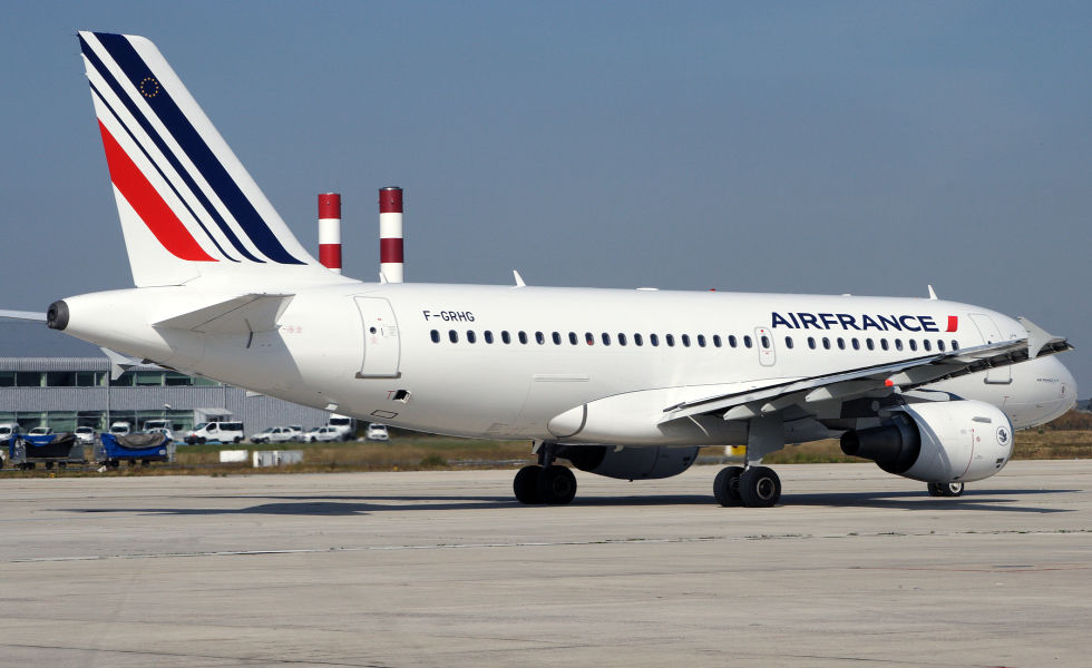 Airbus A319-100 fra Air France. (Foto: Air France)