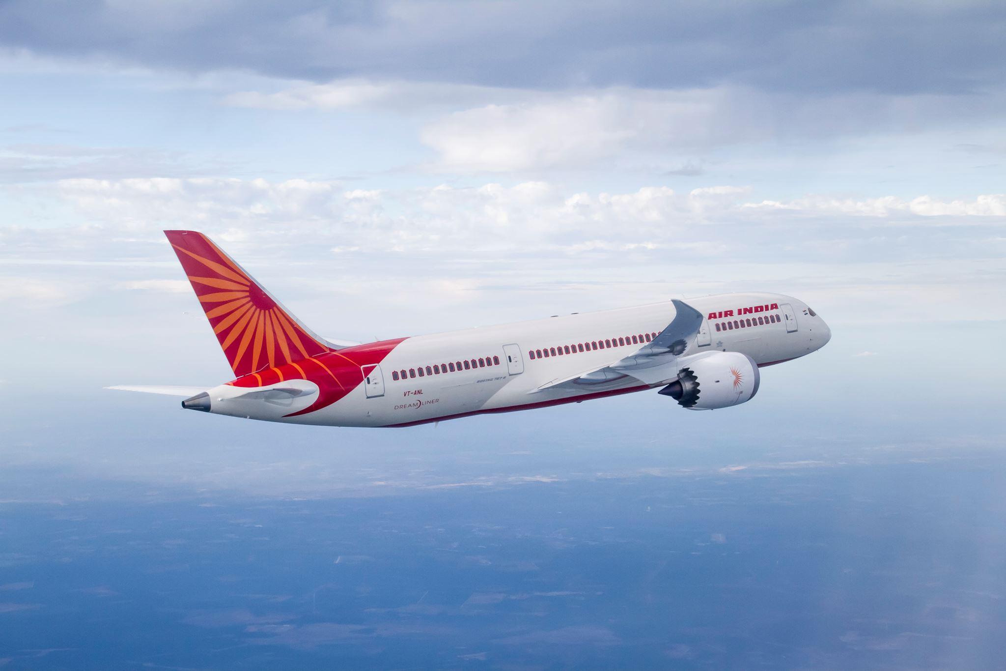 Boeing 787-8 Dreamliner fra Air India.