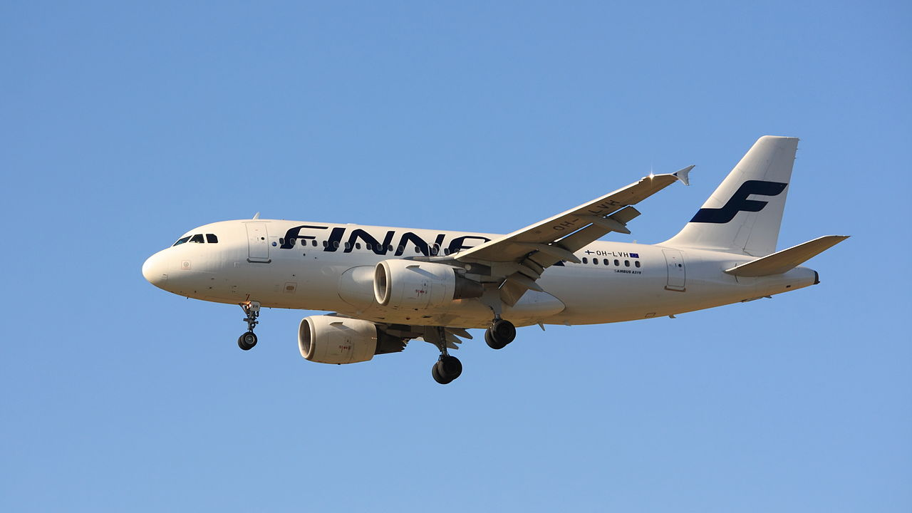Finnair A319. Foto: Valentin Hintikka / Wikimedia Commons.