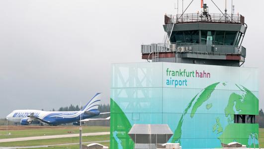 Flughafen Frankfurt-Hahn (Foto: ParkCloud)