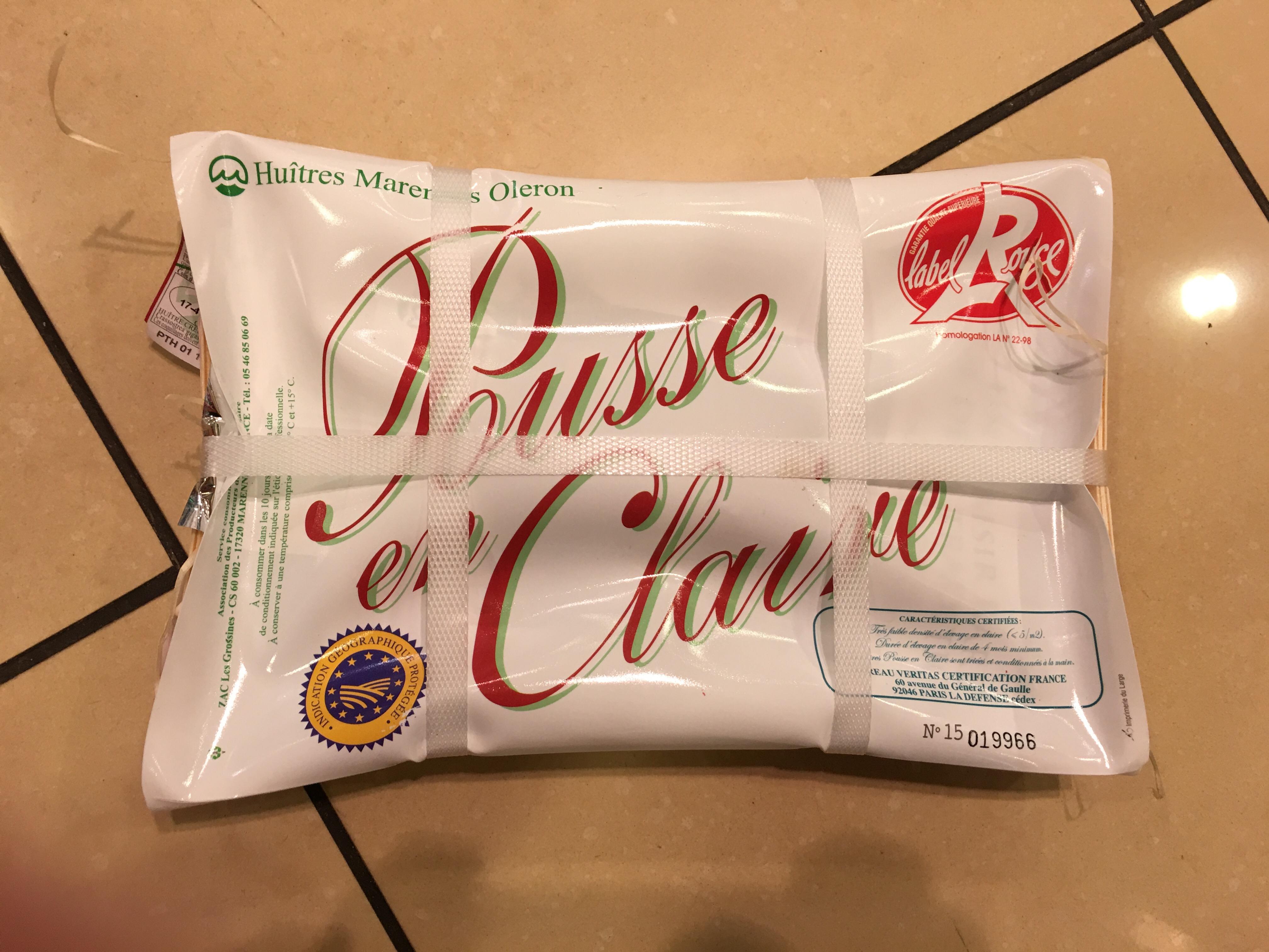 Pakke med østers indeholdt kniv. (Foto: Ole Boisselier-Malmgren)