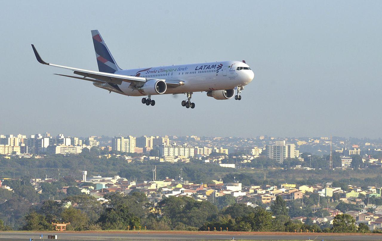 LATAM Airlines Boeing 767-300ER. (Foto: Antonio Cruz)