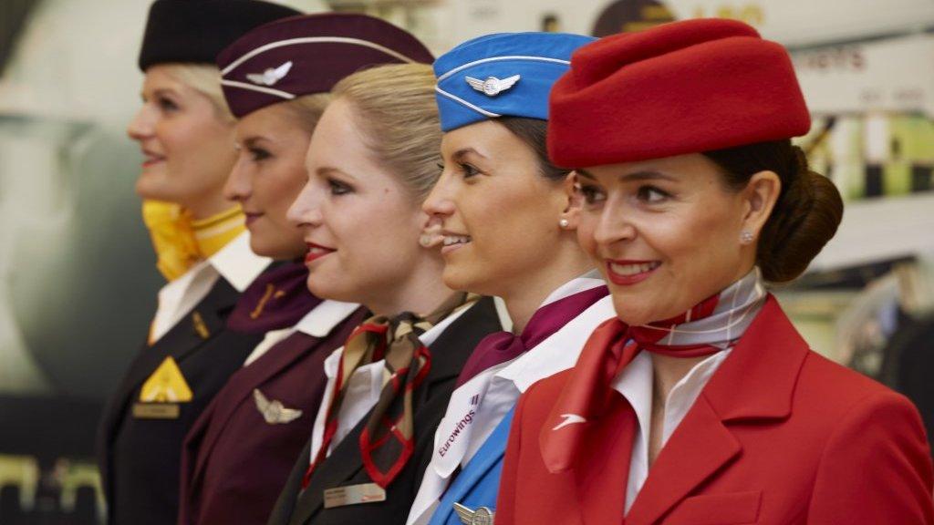 Kabineansatte i Lufhansa-gruppen (Foto: Lufthansa)