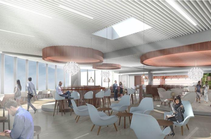 Eventyr Lounge bliver på 850 kvadratmeter med 200 siddepladser.