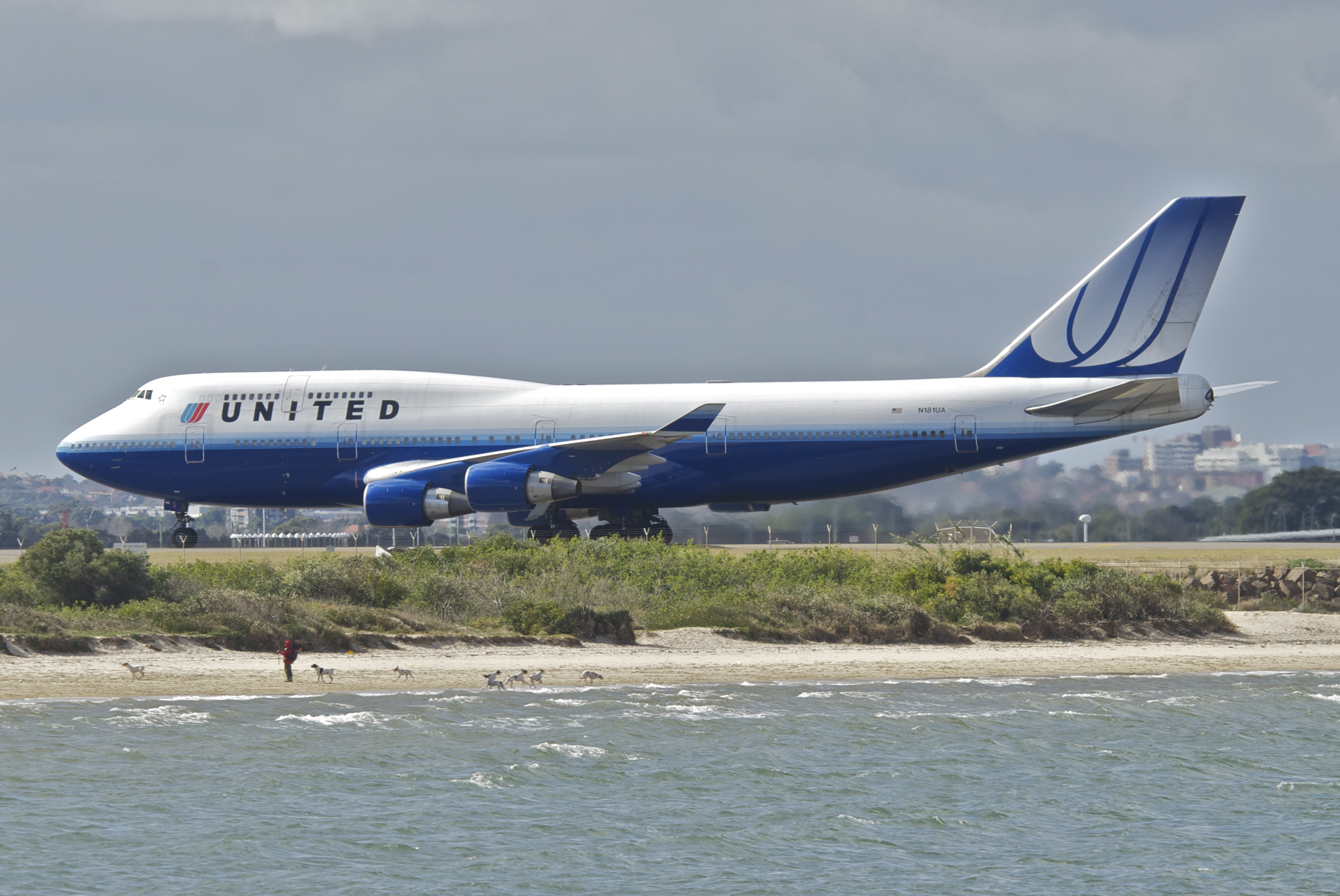 Boeing 747-400 fra United Airlines (Foto: Aero Icarus / Wikimedia Commons)